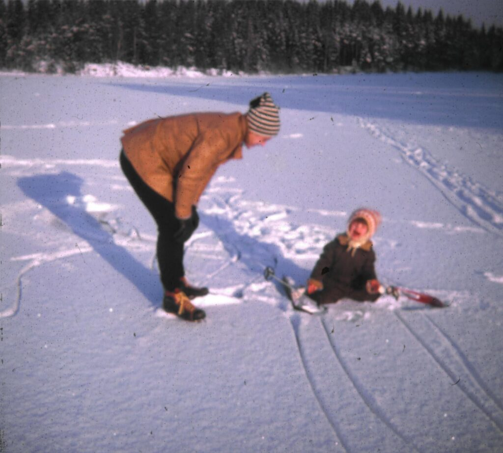 I vår podd om livet som författare, Malin Lundskog, skidåkning, barndom